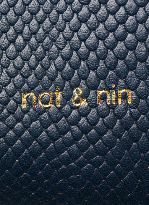Sacs à main Nat & Nin Raquel Bleu vue gauche