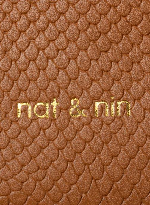 Sacs à main Nat & Nin Raquel Jaune vue gauche