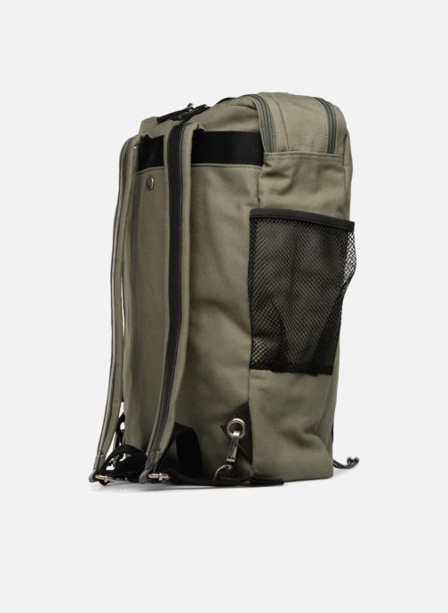 Rucksacks Antonyme by Nat & Nin Angus Green view from the right