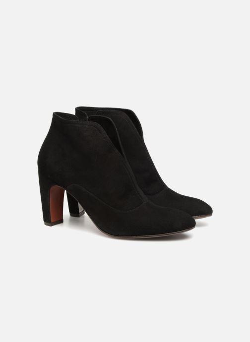 Bottines et boots Chie Mihara X-Fedora 33 Noir vue 3/4