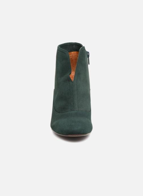 Bottines et boots Chie Mihara X-Fedora 33 Vert vue portées chaussures