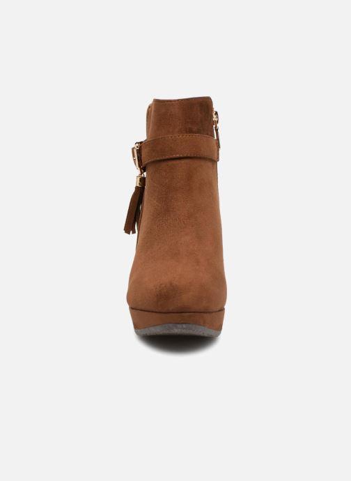 Bottines et boots Xti 33565 Marron vue portées chaussures