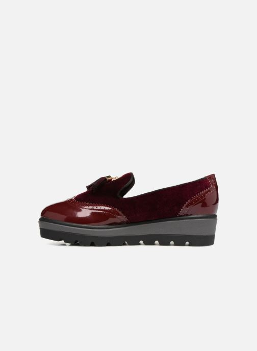 Loafers Xti 47255 Burgundy front view