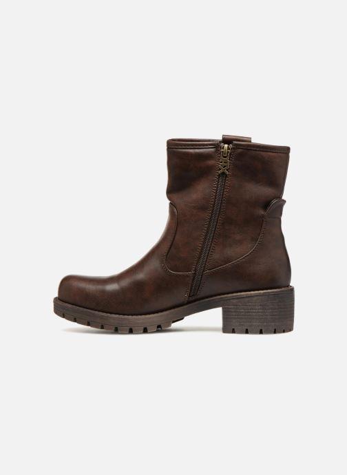 Boots en enkellaarsjes Xti 47425 Bruin voorkant