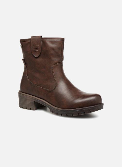 Boots en enkellaarsjes Xti 47425 Bruin detail
