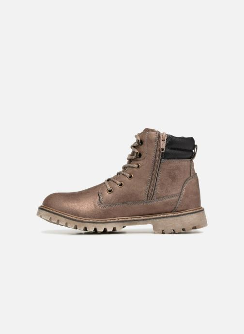 Bottines et boots Xti 55158 Or et bronze vue face