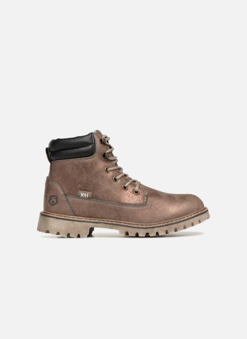 Bottines et boots Xti 55158 Or et bronze vue derrière