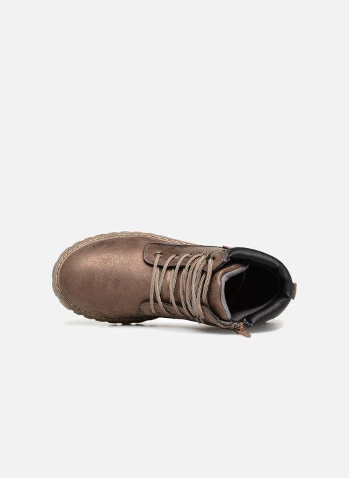 Bottines et boots Xti 55158 Or et bronze vue gauche