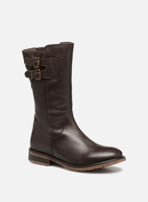 Boots & wellies Xti 55196 Brown detailed view/ Pair view