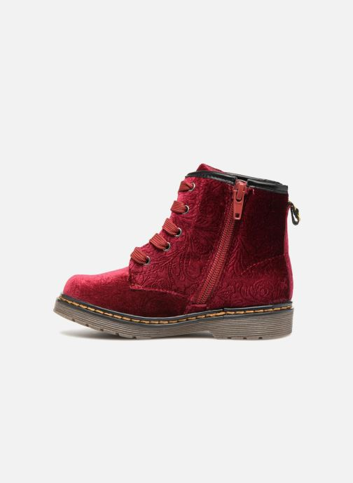 Ankle boots Xti 55260 Burgundy front view