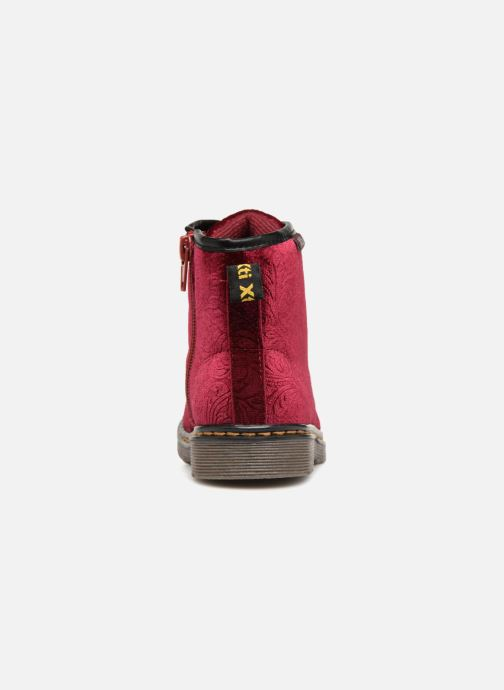 Ankle boots Xti 55260 Burgundy view from the right
