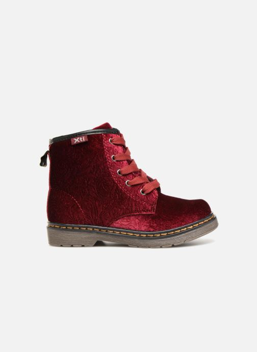 Ankle boots Xti 55260 Burgundy back view