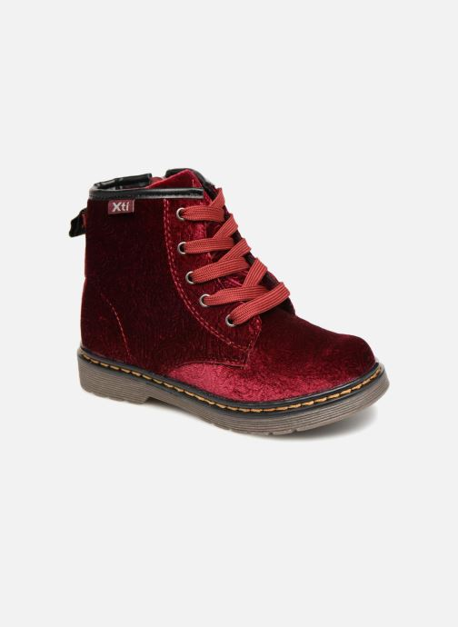 Ankle boots Xti 55260 Burgundy detailed view/ Pair view
