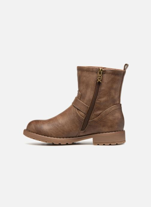Ankle boots Xti 55282 Brown front view