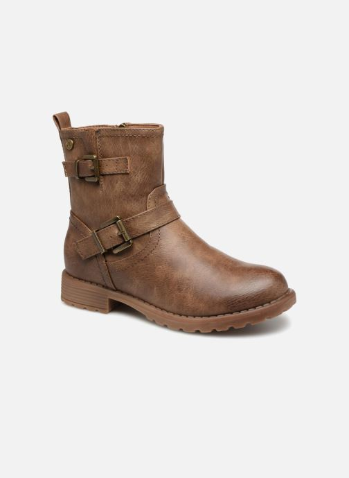 Ankle boots Xti 55282 Brown detailed view/ Pair view