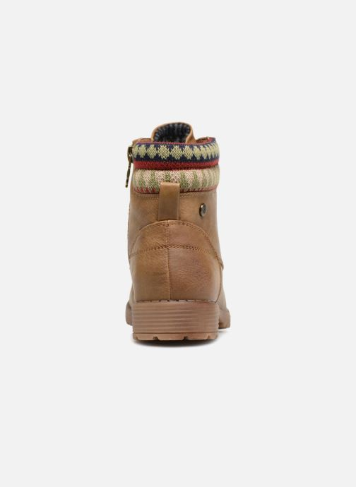 Ankle boots Xti 55283 Brown view from the right