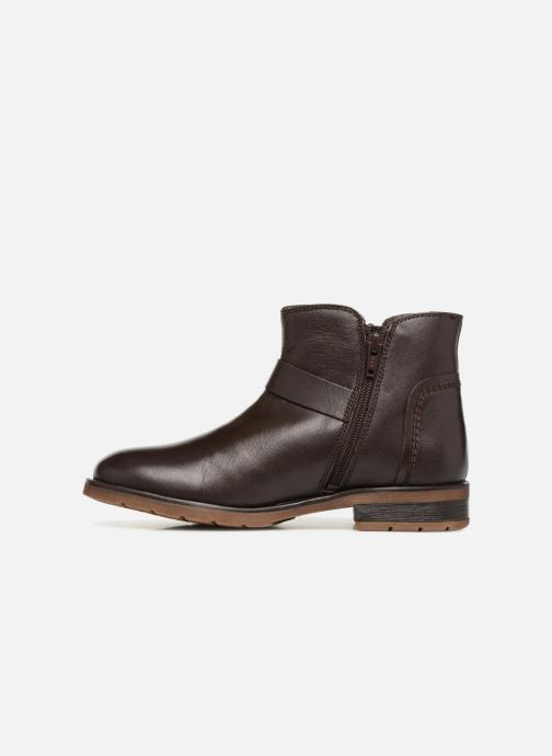 Ankle boots Xti 55311 Brown front view