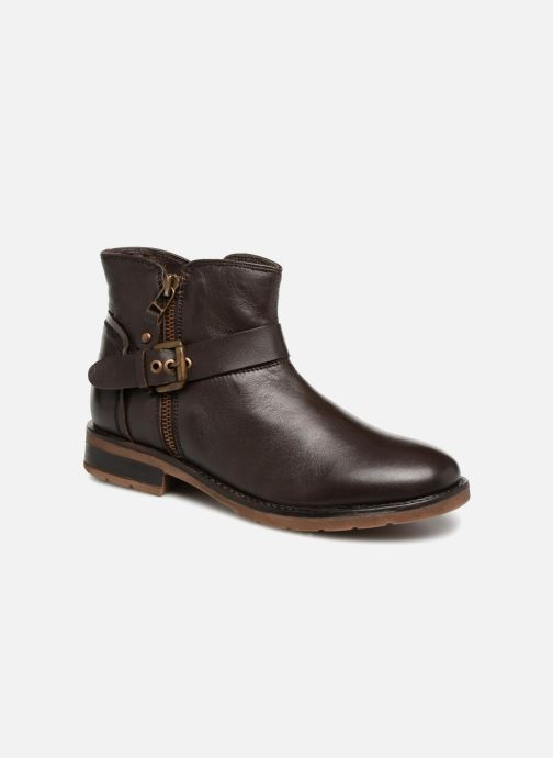 Ankle boots Xti 55311 Brown detailed view/ Pair view