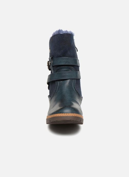 Ankle boots Xti 55364 Blue model view