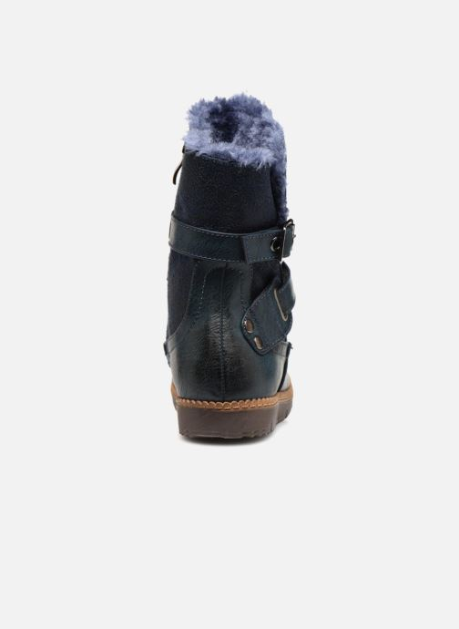 Ankle boots Xti 55364 Blue view from the right