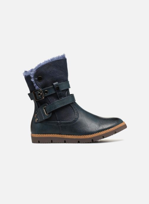 Ankle boots Xti 55364 Blue back view