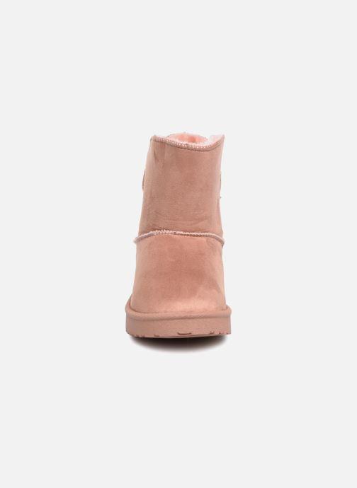 Bottes I Love Shoes Thibicho Rose vue portées chaussures