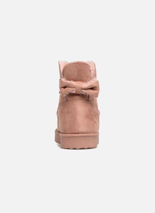 Bottes I Love Shoes Thibicho Rose vue droite
