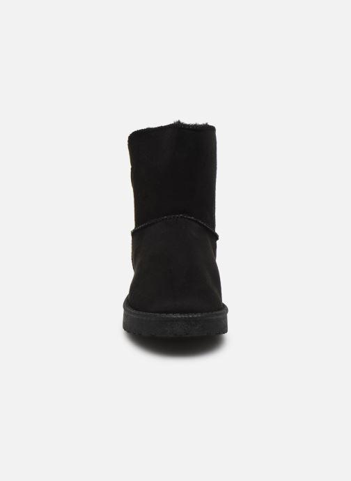 Bottes I Love Shoes Thibicho Noir vue portées chaussures
