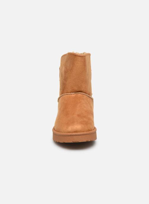 Bottes I Love Shoes Thibicho Marron vue portées chaussures