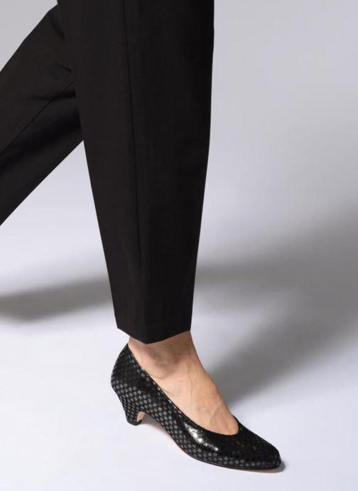 Zapatos de tacón Ippon Vintage Babe-kub Marrón vista de abajo