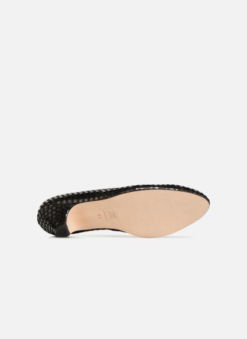 Zapatos de tacón Ippon Vintage Babe-kub Marrón vista de arriba