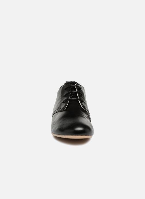 Chaussures à lacets Ippon Vintage Bic-Black Noir vue portées chaussures