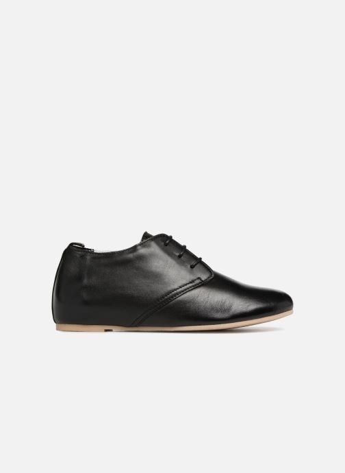 Chaussures à lacets Ippon Vintage Bic-Black Noir vue derrière