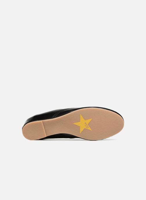 Chaussures à lacets Ippon Vintage Bic-Black Noir vue haut