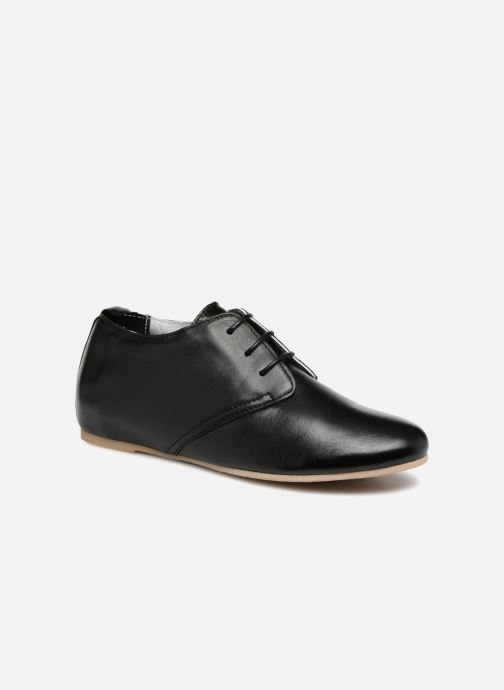 Chaussures à lacets Ippon Vintage Bic-Black Noir vue détail/paire