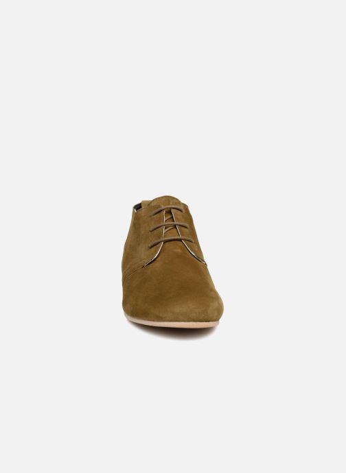 Zapatos con cordones Ippon Vintage Bic-old Verde vista del modelo