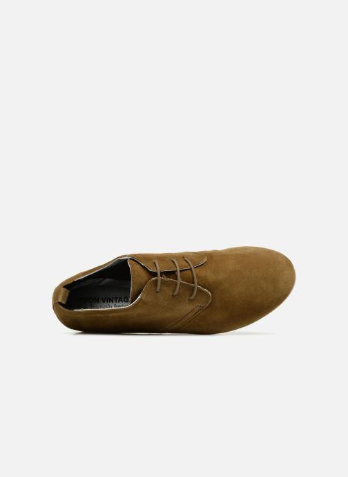 Zapatos con cordones Ippon Vintage Bic-old Verde vista lateral izquierda