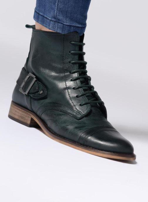 Bottines et boots Ippon Vintage Denver-brush Vert vue bas / vue portée sac