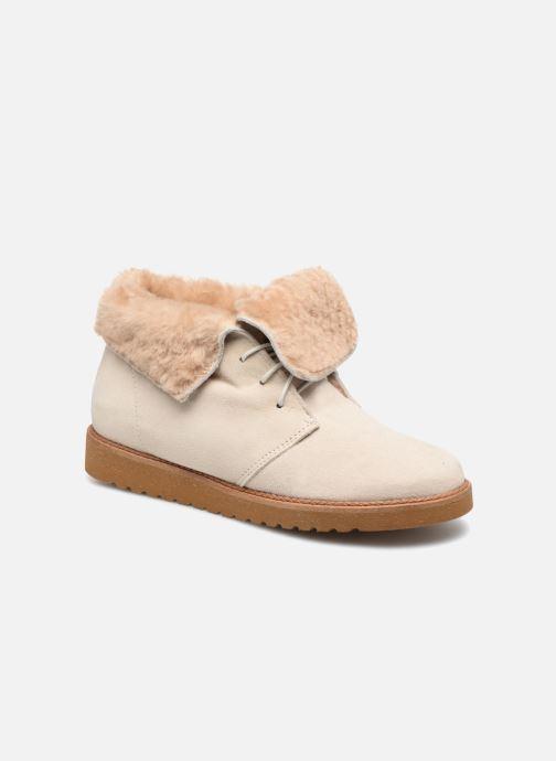 Ankelstøvler Ippon Vintage Hyp-Polar Beige detaljeret billede af skoene