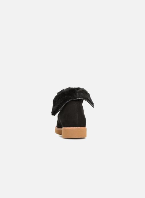 Ankelstøvler Ippon Vintage Hyp-Polar Sort Se fra højre