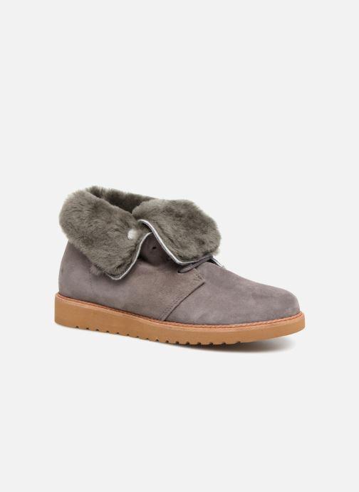 Ankelstøvler Ippon Vintage Hyp-Polar Brun detaljeret billede af skoene