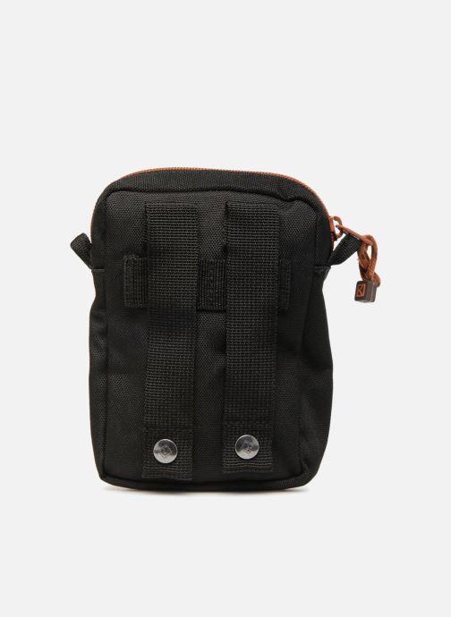 Kleine lederwaren Kuts Bodybag Zip Zwart voorkant