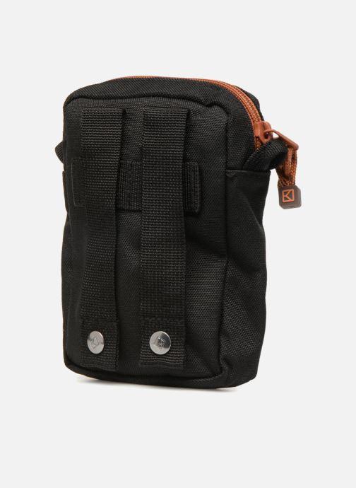Kleine lederwaren Kuts Bodybag Zip Zwart rechts