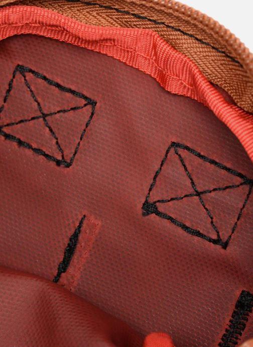 Kleine lederwaren Kuts Bodybag Zip Zwart achterkant