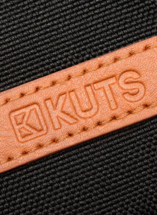 Kleine lederwaren Kuts Bodybag Zip Zwart links