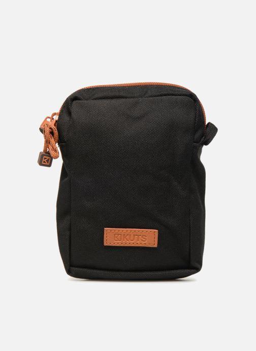 Kleine lederwaren Kuts Bodybag Zip Zwart detail