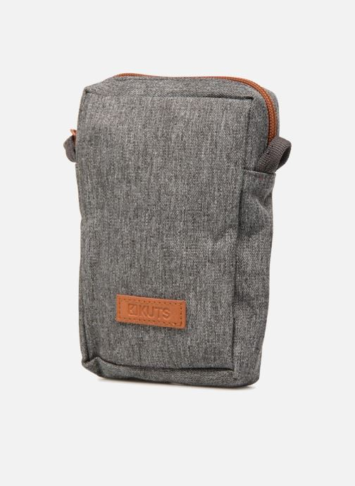 Kleine lederwaren Kuts Bodybag Zip Grijs model