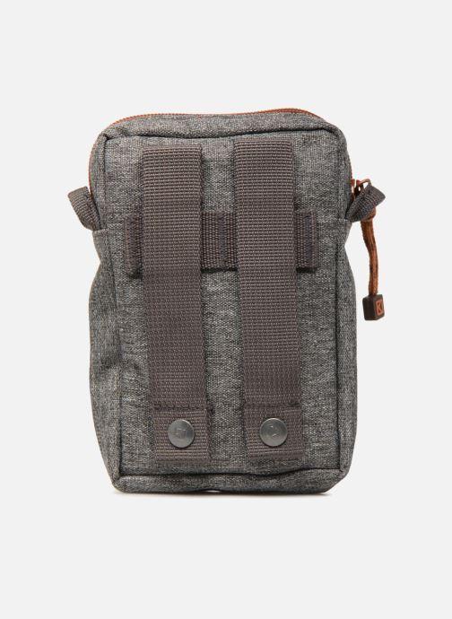 Kleine lederwaren Kuts Bodybag Zip Grijs voorkant