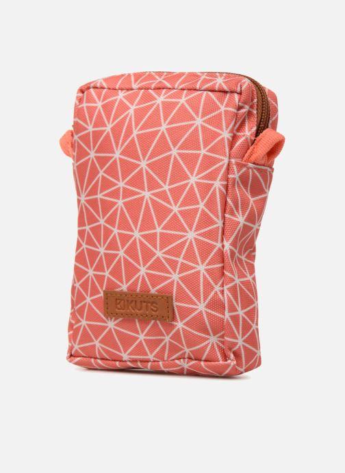 Kleine lederwaren Kuts Bodybag Zip Oranje model