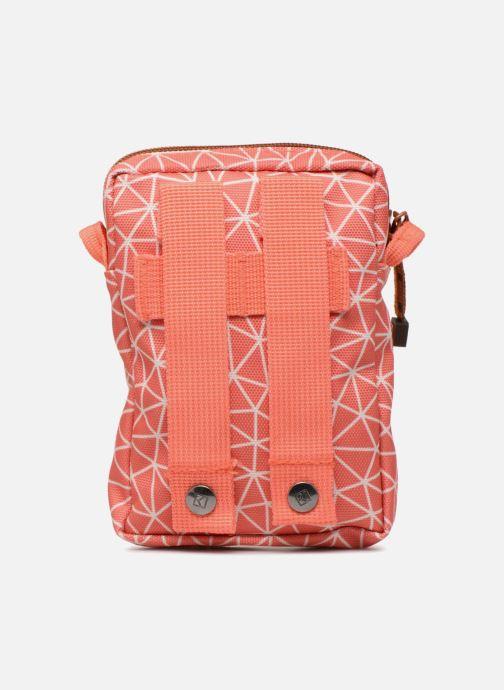 Kleine lederwaren Kuts Bodybag Zip Oranje voorkant